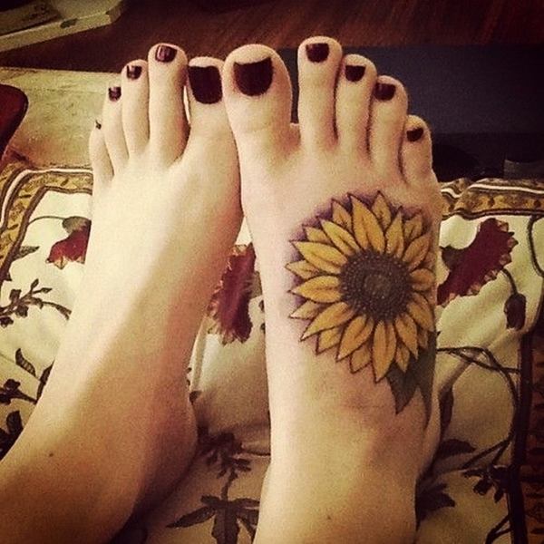 Best Foot Tattoo Designs and Ideas70
