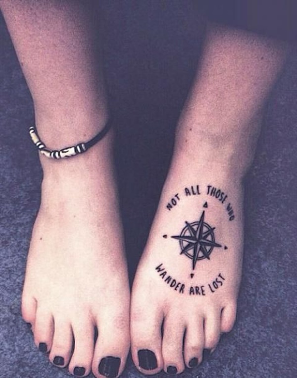 Best Foot Tattoo Designs and Ideas85