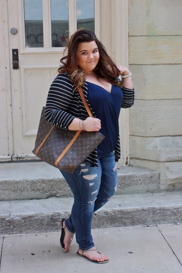 Cute Curvy Girl Fashion Outfits and Ideas (2)