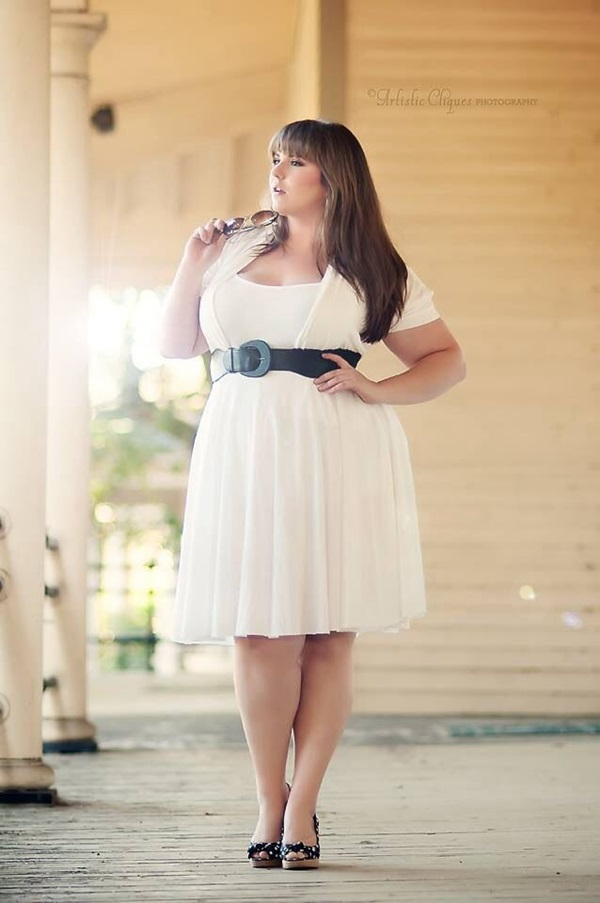 Cute Curvy Girl Fashion Outfits and Ideas (32)