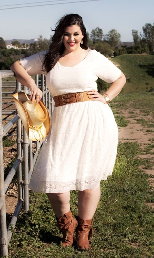 Cute Curvy Girl Fashion Outfits and Ideas (36)