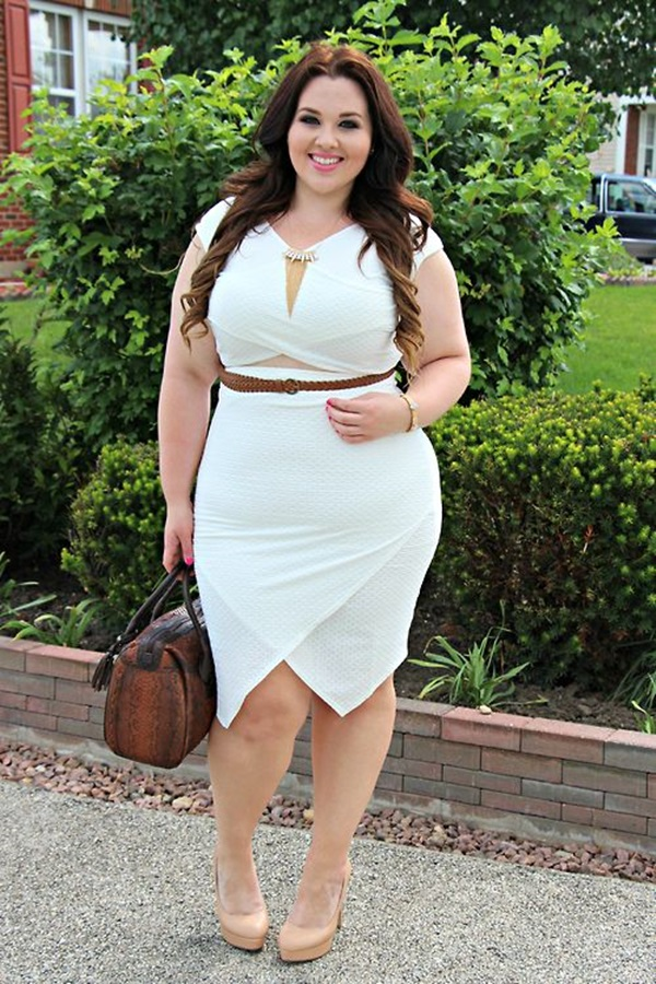 Cute Curvy Girl Fashion Outfits and Ideas (4)