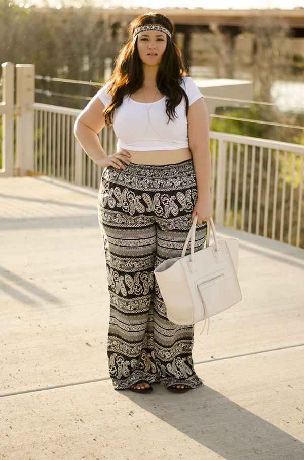 Cute Curvy Girl Fashion Outfits and Ideas (50)