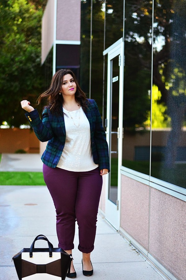 Cute Curvy Girl Fashion Outfits and Ideas (5)