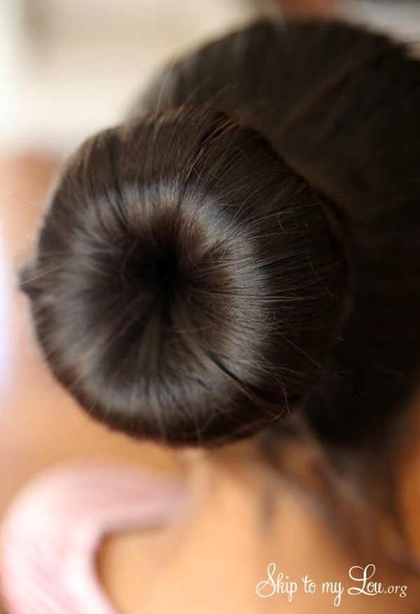 Easy Bun Hairstyles for Long Hair and Medium Hair1 (2)