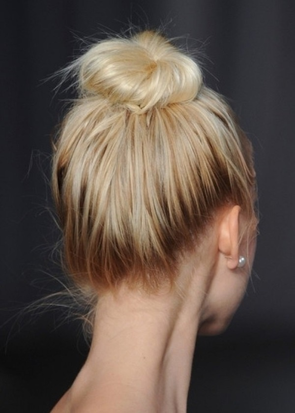 Easy Bun Hairstyles for Long Hair and Medium Hair1 (23)