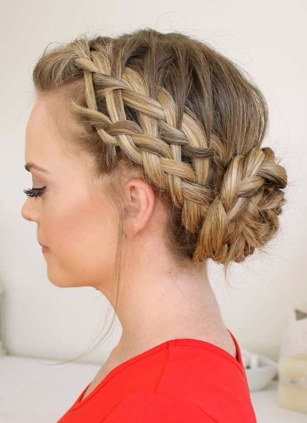 Easy Bun Hairstyles For Long Hair And Medium Hair1 (45)