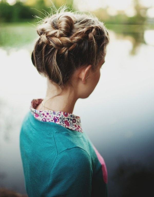 Easy Bun Hairstyles for Long Hair and Medium Hair1 (5)