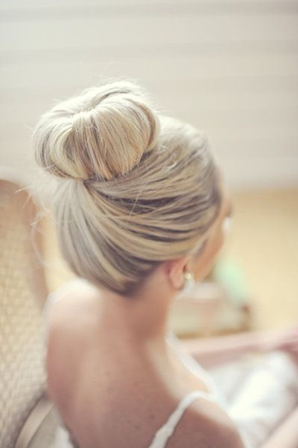 Easy Bun Hairstyles for Long Hair and Medium Hair57-Ballerina Bun