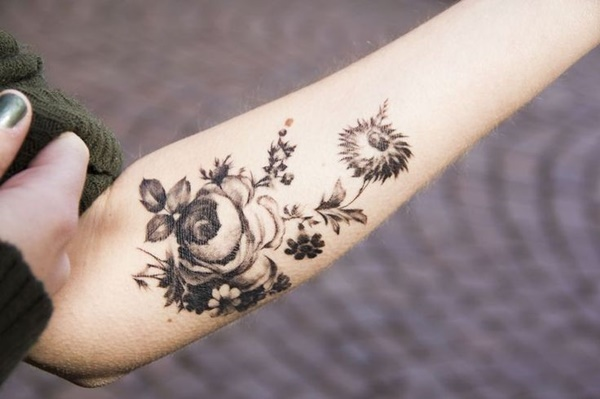 Mehndi Tattoo Designs For Upper Arms : Purposeful forearm tattoo ideas and designs to fell in love with