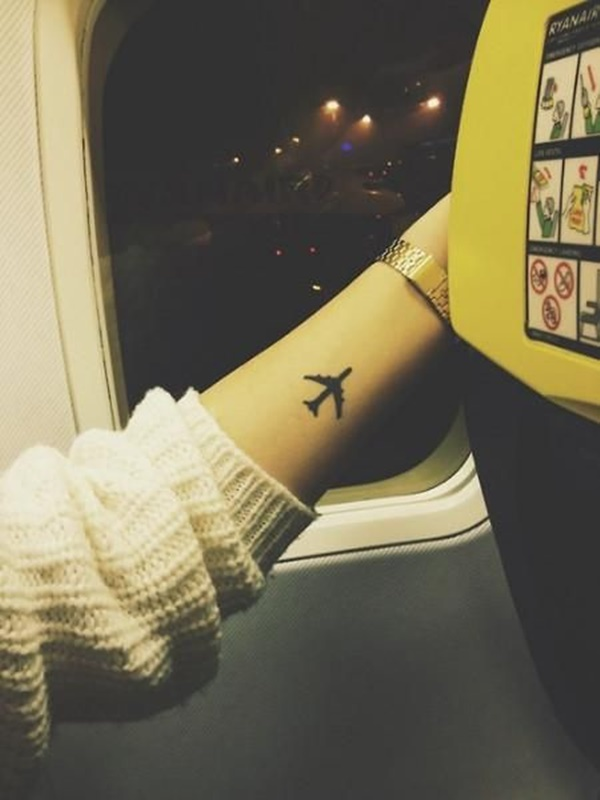 Forearm Tattoo Ideas and Designs 98- airplane tattoo