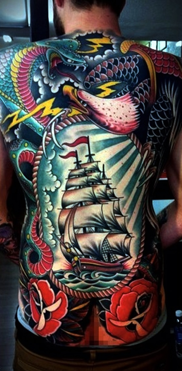 Appealing Back Tattoo Designs to die for (12)
