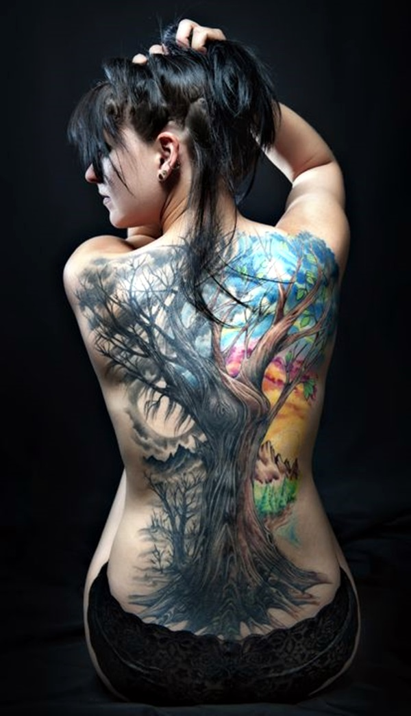 Appealing Back Tattoo Designs to die for (14)
