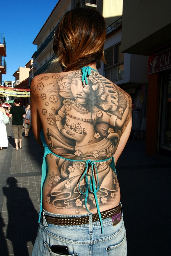 Appealing Back Tattoo Designs to die for (26)