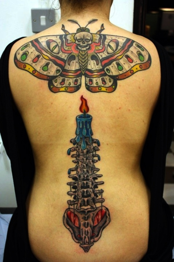 Appealing Back Tattoo Designs to die for (38)