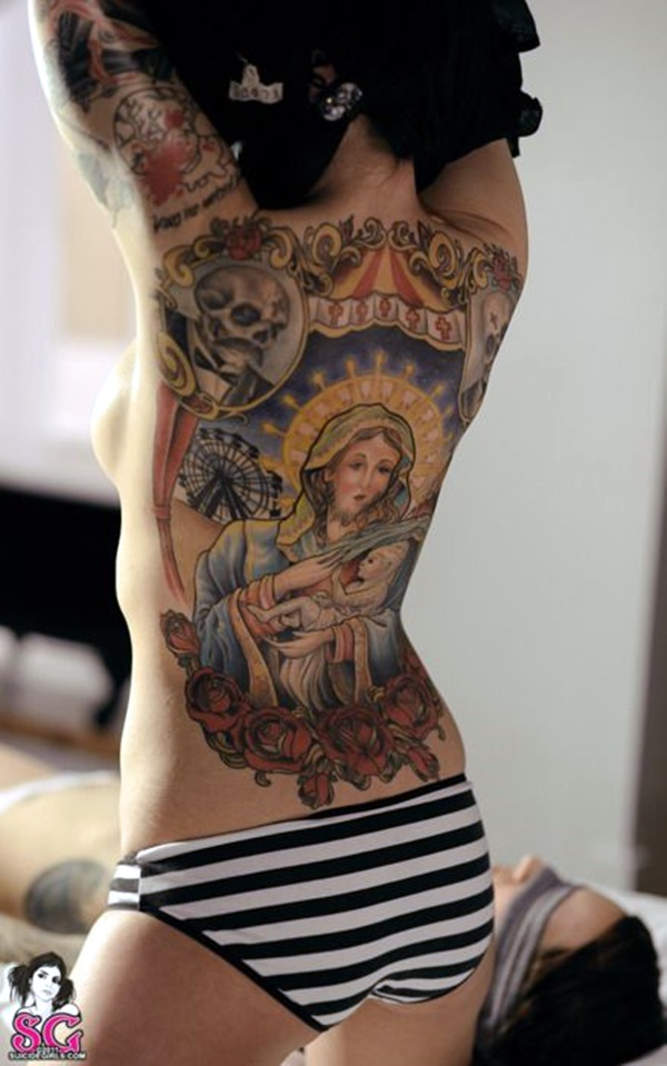 Appealing Back Tattoo Designs to die for (44)