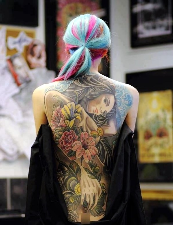Appealing Back Tattoo Designs to die for (48)