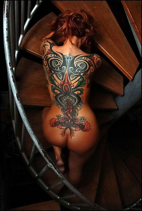 Appealing Back Tattoo Designs to die for (52)