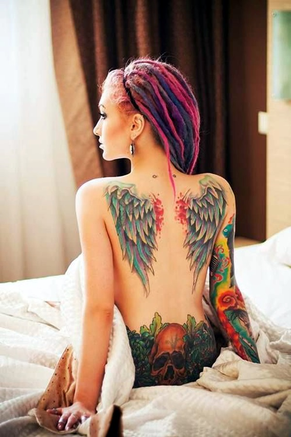 Appealing Back Tattoo Designs to die for (53)