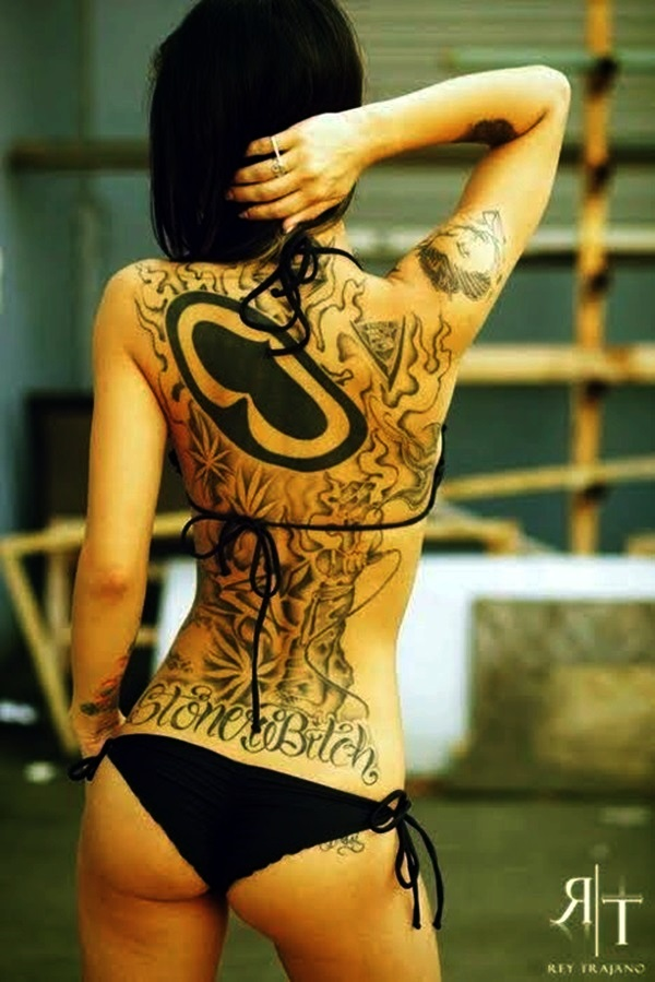 Appealing Back Tattoo Designs to die for (60)