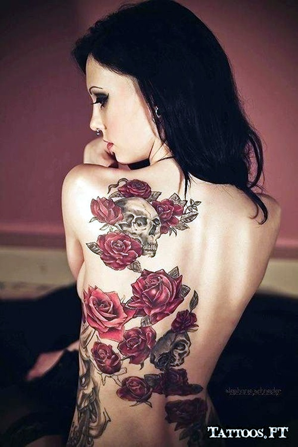 Appealing Back Tattoo Designs to die for (63)