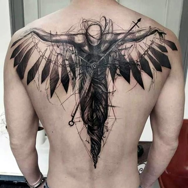 Appealing Back Tattoo Designs to die for (83)