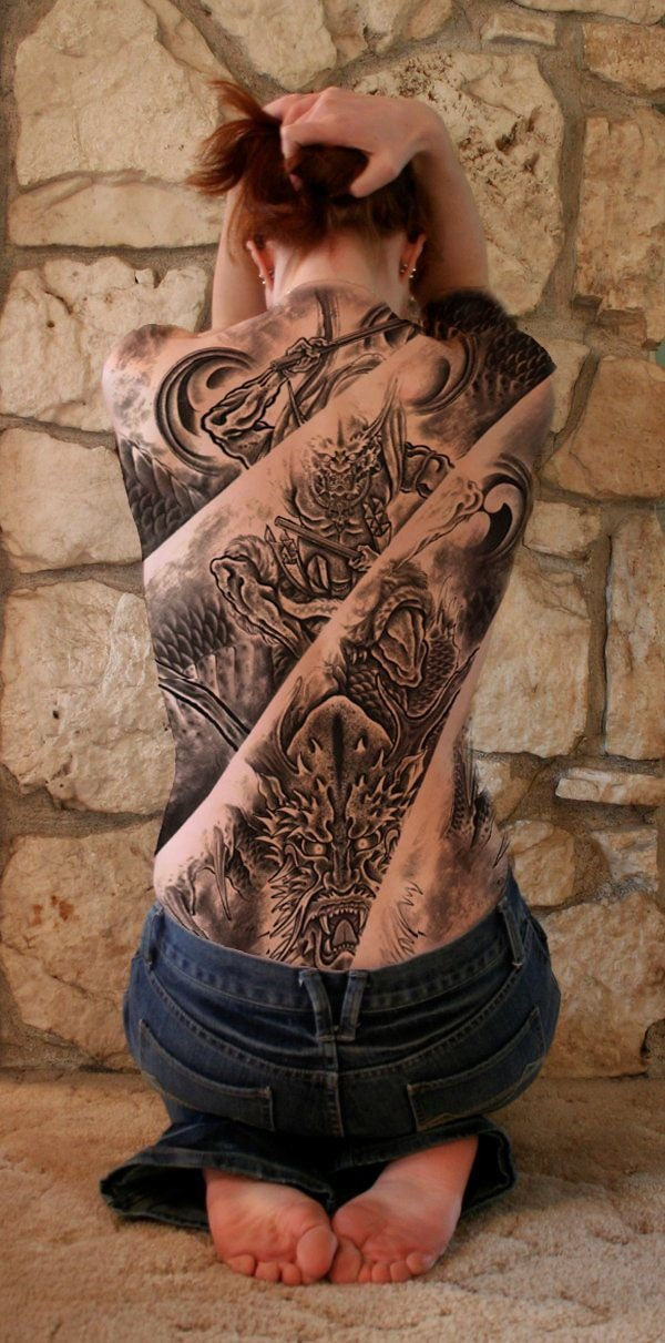 Back Tattoo Designs21-horimono tattoo