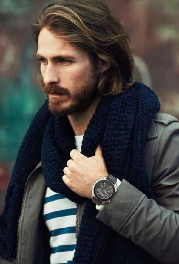 Celebrity Fashion Style Outfits72-Christian Bale's Longer Hair with Layers