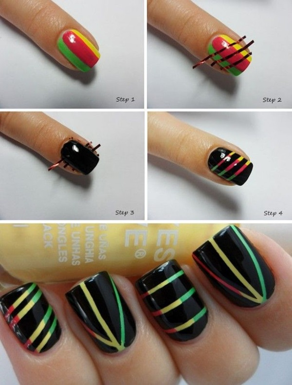 DIY Nail art designs (15)