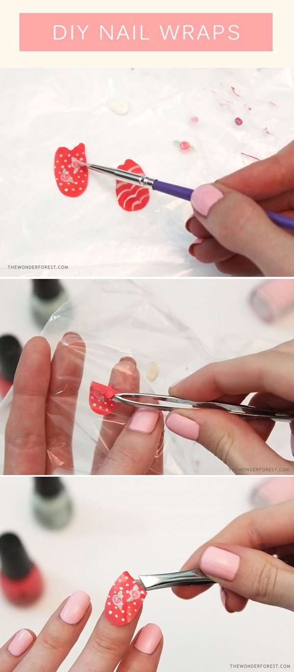 DIY Nail art designs (29)