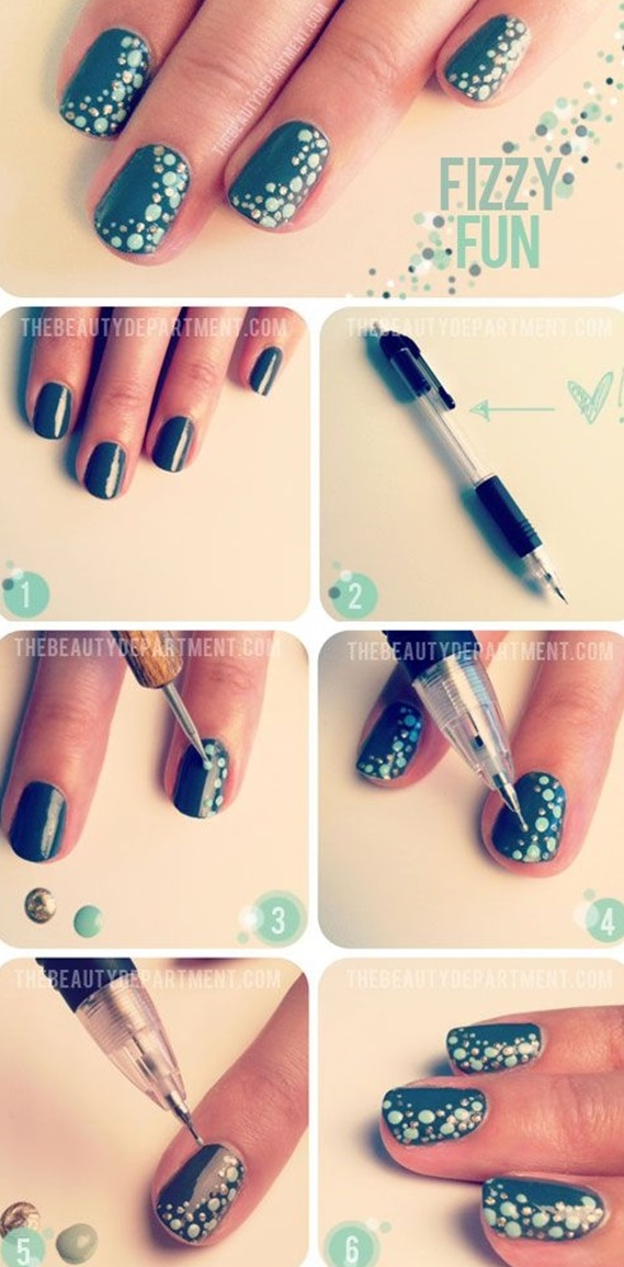 DIY Nail art designs (33)