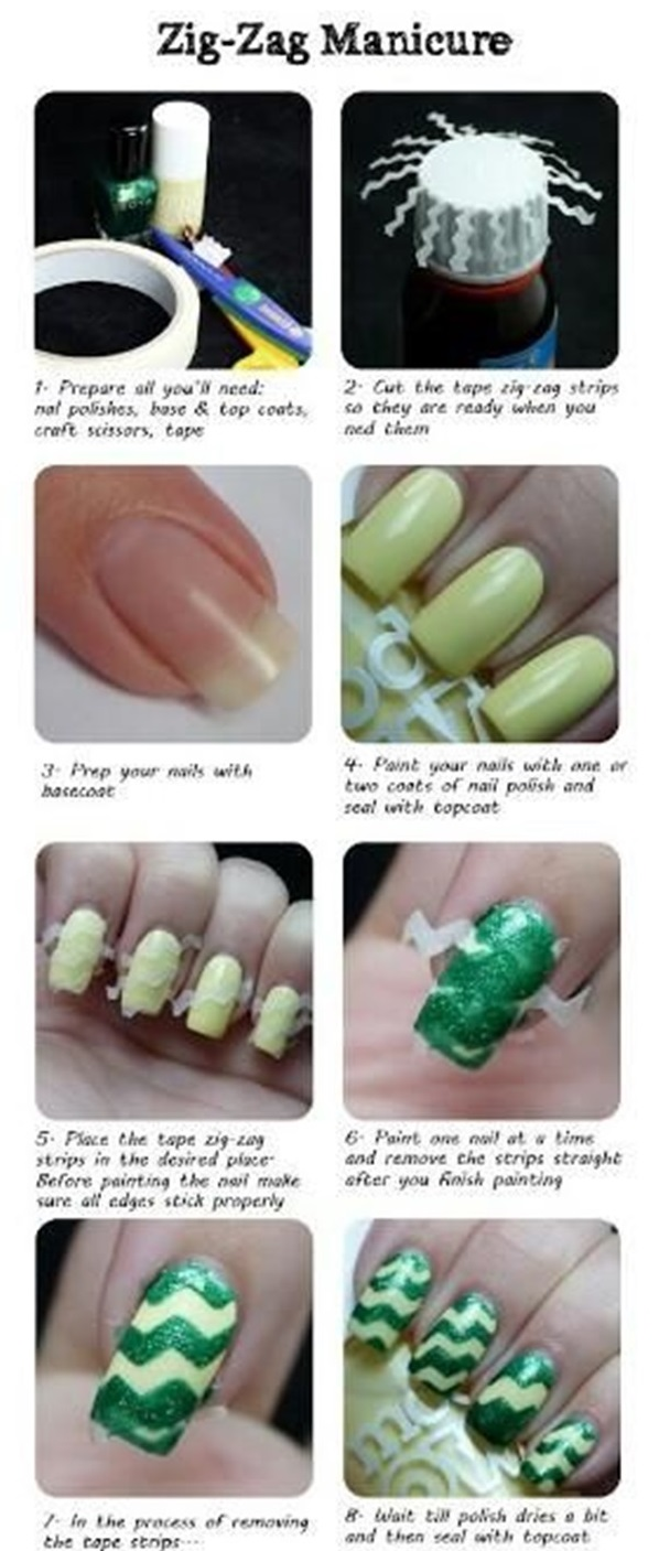 DIY Nail art designs (35)