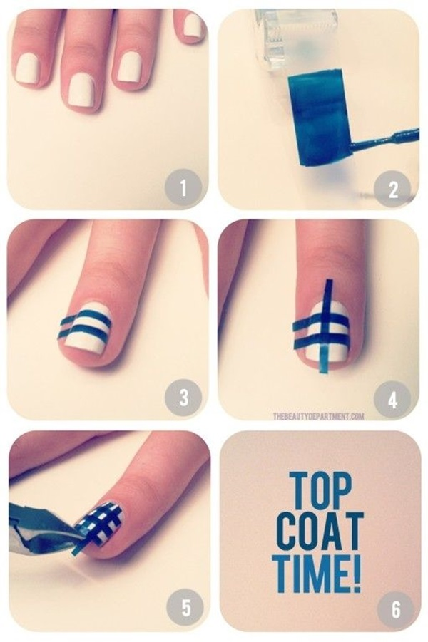 DIY Nail art designs (38)