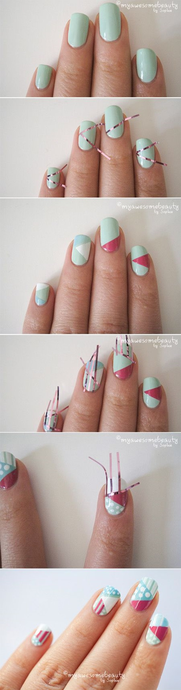 DIY Nail art designs (39)
