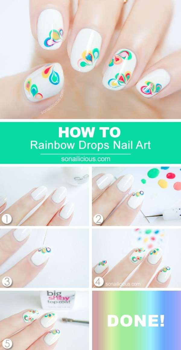DIY Nail art designs (40)