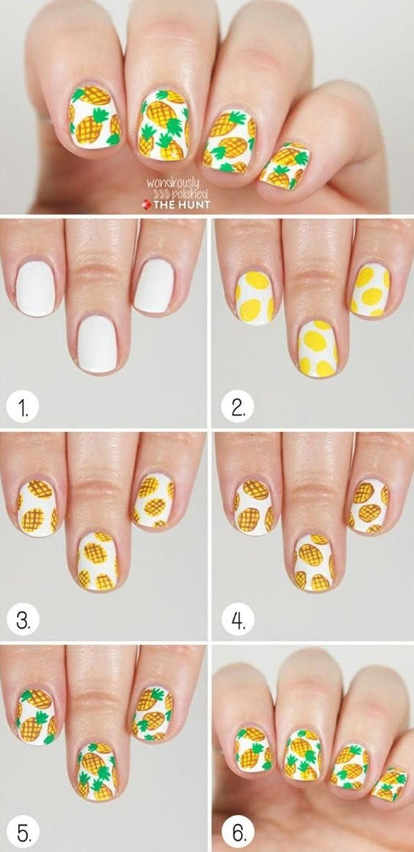 DIY Nail art designs (46)