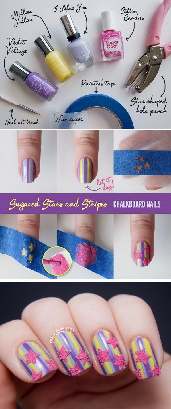 DIY Nail art designs (53)