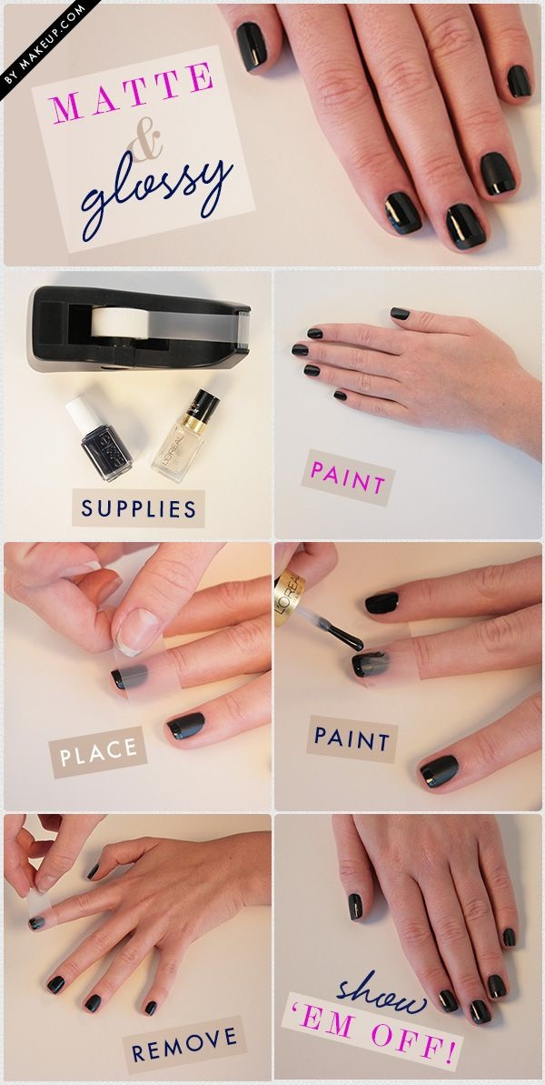 DIY Nail art designs (58)