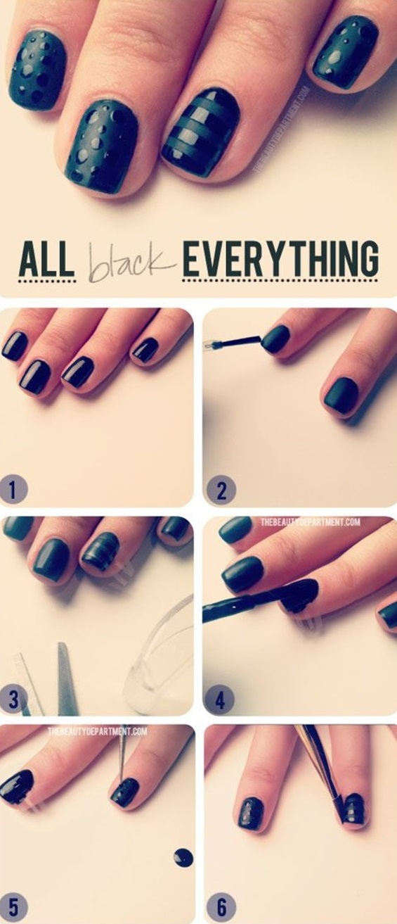 Diy Nail Art Designs 59