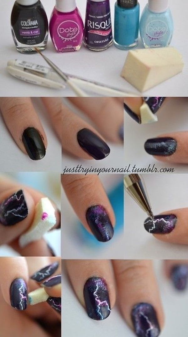 DIY Nail art designs (8)