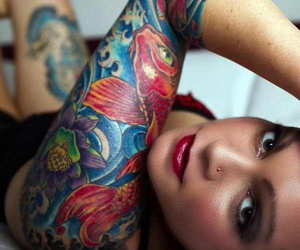 Half Sleeve Tattoo Designs (30)