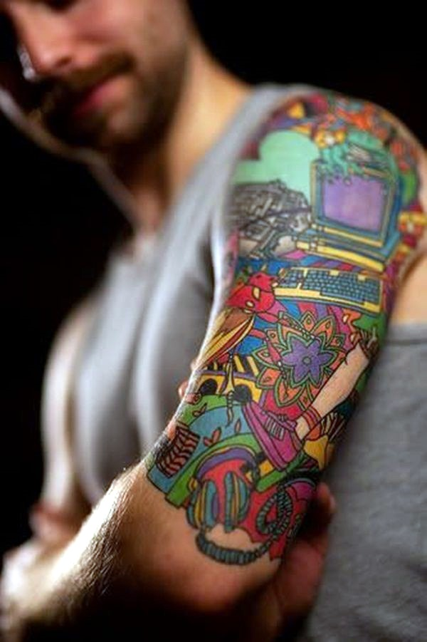 Half Sleeve Tattoo Designs (32)