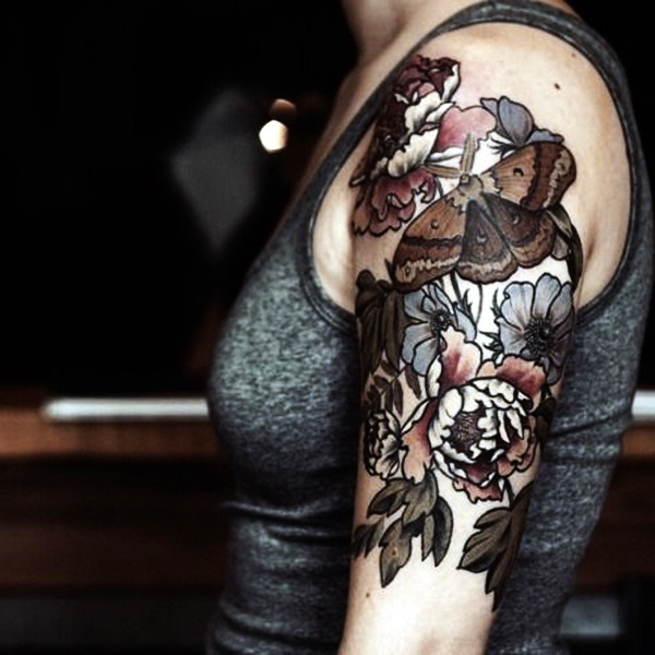 101 Best Foot Tattoo Designs And Ideas With Significant: 101 Catchy Half Sleeve Tattoos For Girls And Boys