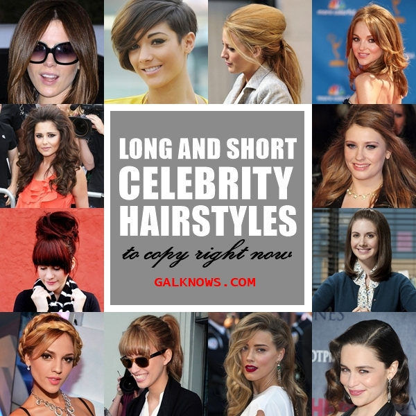 Long and Short Celebrity Hairstyles1.1