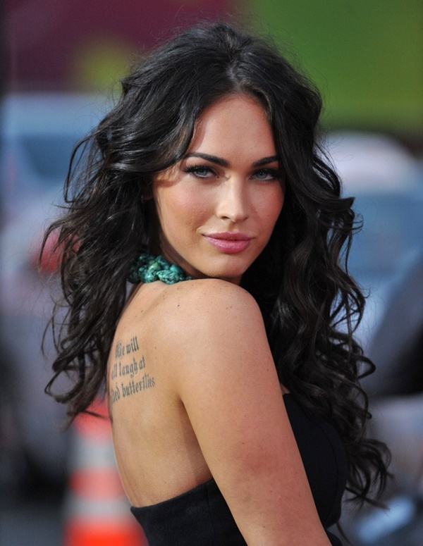Long and Short Celebrity Hairstyles11-megan fox hairstyle
