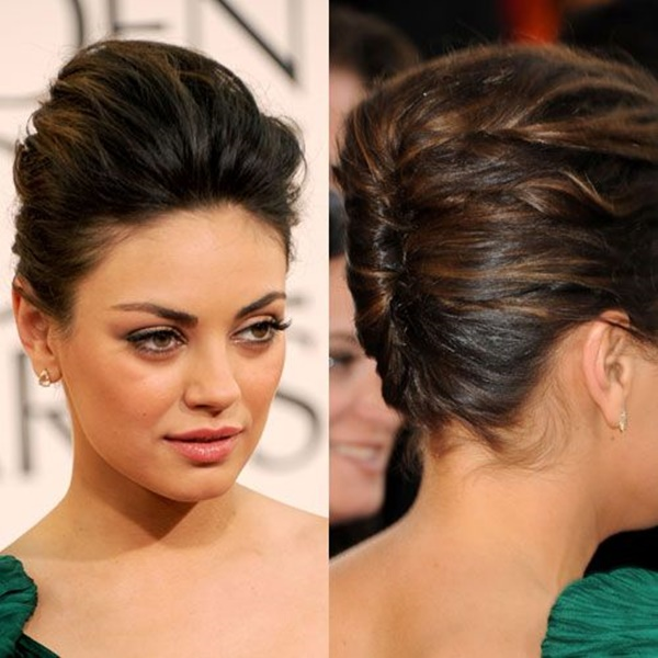 Long and Short Celebrity Hairstyles13-mila kunis hairstyle