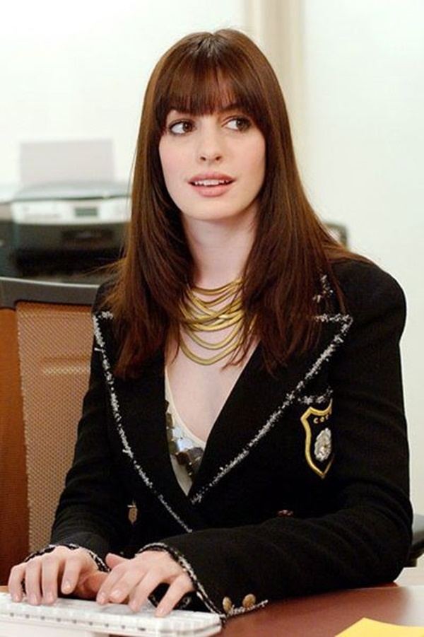 Long and Short Celebrity Hairstyles16-anne hathaway hairstyle