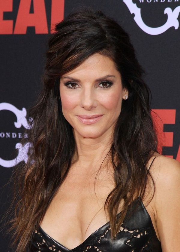 Long and Short Celebrity Hairstyles25-sandra bullock hairstyle