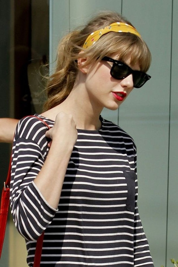 Long and Short Celebrity Hairstyles37-taylor swift hairstyle