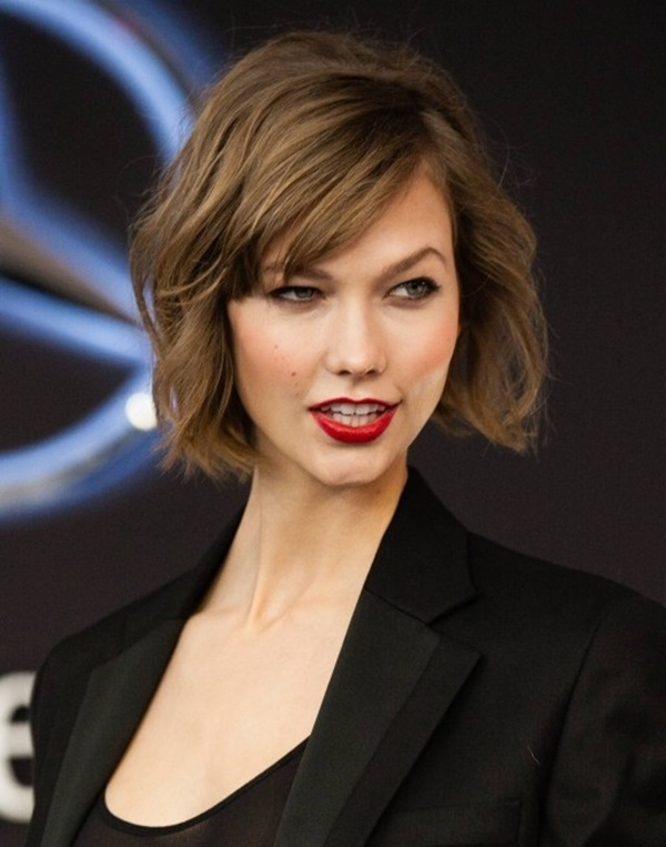 Long and Short Celebrity Hairstyles45 -Karlie Kloss hairstyle